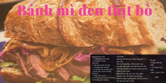 bánh mì đen