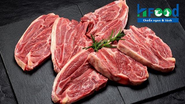 bán thịt cừu tươi