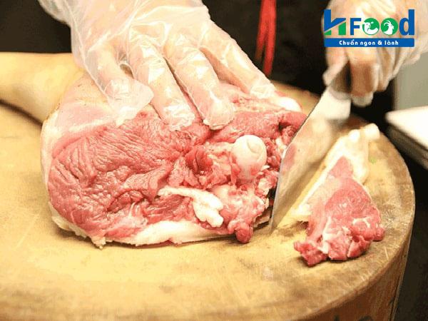 bỏ sỉ thịt dê tươi tại vinh hạnh food