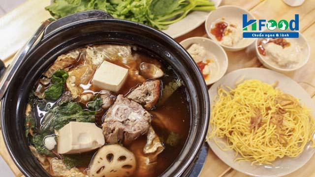 lẩu thịt dê tươi ngon chỉ có tại Vinh Hạnh Food