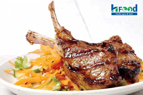 các món ẩm thực với thịt cừu