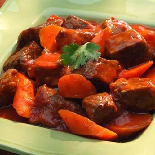 cách nấu thịt dê hầm cà rốt