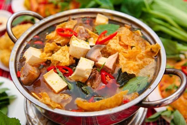 Cách nấu lẩu dê Ninh Bình