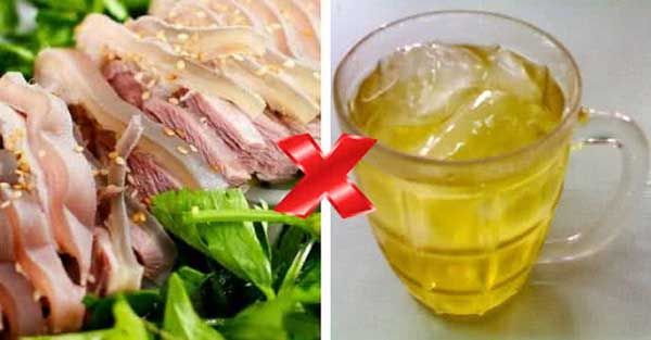 thịt dê kỵ thức ăn nước uống nào