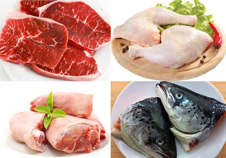 vết thương hở ăn thịt dê được không