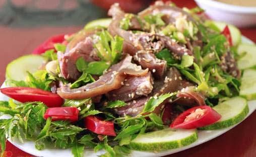 cách làm món thịt dê luộc