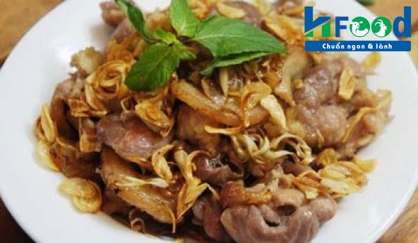 Món ăn giúp bổ thận tráng dương từ thịt dê