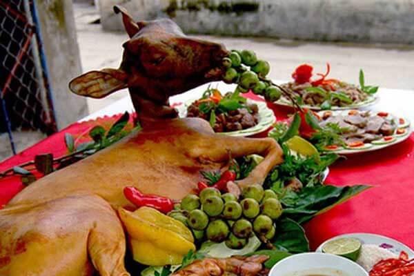 Món ăn thịt dê dành cho phụ nữ
