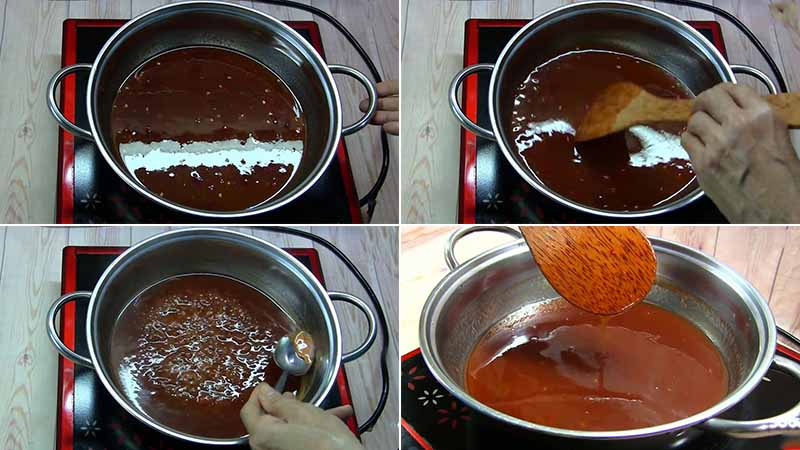 Cách làm sốt me chua ngọt