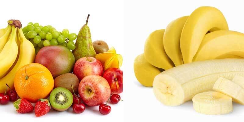 trái cây và chuối